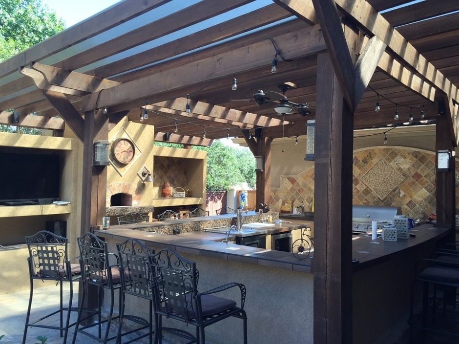 Diversified Energy - Outdoor Kitchen