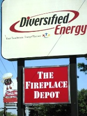diversified sign