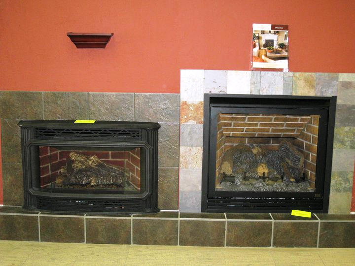 What is a gas fireplace insert