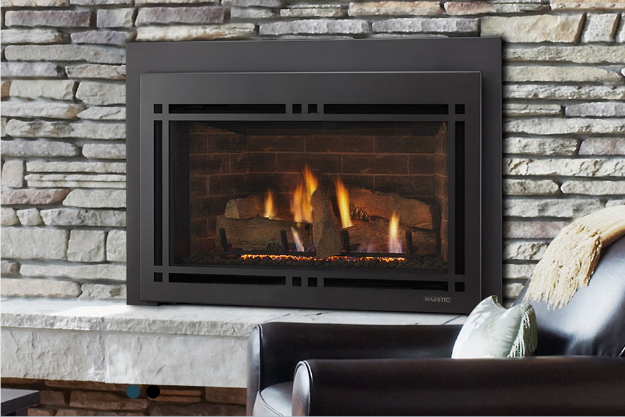 Learn About Gas Inserts And Propane, Wood Fireplace Gas Insert